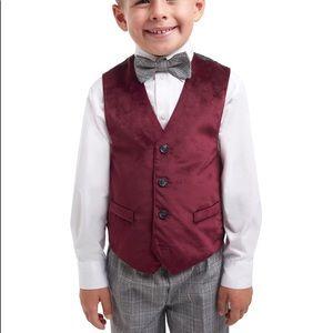 Little boy 4PC dress suit set size 4T